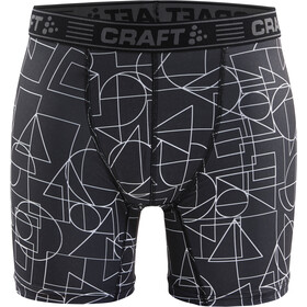 "Craft Greatness 6"" Boxershorts Heren, black/white"